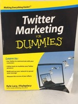 Twitter Marketing for Dummies by Kyle Lacy (2009, Paperback) x78 - $3.22