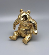 Sofubi Toy Box - Gold Panda (Rare Show Exclusive) image 3