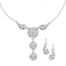 Avon Ultimate Challenger Necklace and Earring Gift Set - $14.99