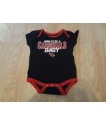 "Infant/Baby Arizona Cardinals 0/3 Mo Creeper One-Piece Bodysuit ""Born To... - $9.49"