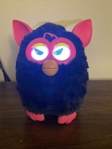 Furby 2012 Hasbro 'A Mind Of Its Own'  Black Hot Pink  tested works - $28.05