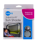 Car Boat Plane Window Baby Child Sun Shade Mesh Locking Suction Cups NEW... - $14.84