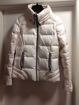 Women Guess Feather Down White Winter Coat Size S - $44.52