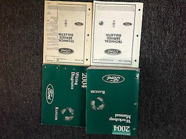 2004 Ford Ranger Truck Service Shop Reparatur Werkstatt Manuell Set W Ew... - $89.05