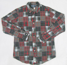NEW $145 Polo Ralph Lauren Patchwork Custom Fit Shirt! *Mix of Plaids* *... - $74.99