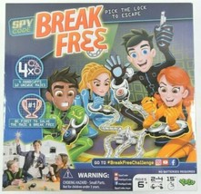 Yulu Spy Code Break Free Challenge Board Game Family Game Night Sealed NEW - $20.19