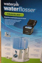 Waterpik Flosser TRAVELER Water Jet Pick Water Pik WP305 w/ 6 tips *used* - $9.89