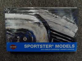 2012 Harley Davidson Sportster Operatori Proprietari Owner's Manuale Fab... - $54.01