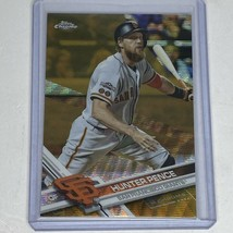 2017 TOPPS CHROME HUNTER PENCE REFRACTOR PADRES /50 128 - $4.59