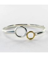 Links of London Duo Ring Bracelet 5012.0356 18k Yellow Gold Sterling New... - $582.00