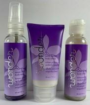 Avon Wonder MOON ORCHID 3pc Body Cream Wash Mist 2 fl oz ea - $12.86