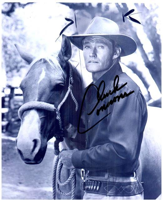 Primary image for CHUCK CONNORS Authentic Original  SIGNED AUTOGRAPHED 8X10 PHOTO w/COA 2353