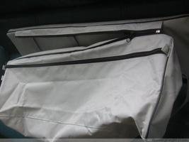 underseat bag with cushion  for 8 ft to 11 ft inflatable boat dinghy image 3