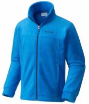 Columbia Boys' Steens MT Fleece Jacket Blue Sz L - $28.50