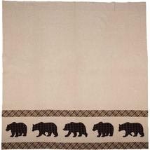 Wyatt Shower Curtain - Bear