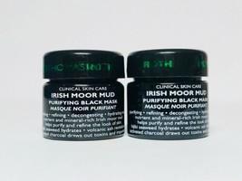 Peter Thomas Roth-Irish Moor Mud Purifying Black Mask LOT OF 2 Travel Size 0.5oz - $9.60