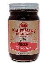 Kauffman's All-Natural Cherry Jam, 9 Oz. Jar (Pack of 2) - $16.24