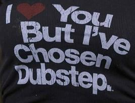 I Love You But i ' Ve Elegido Dubstep Mujer Negro Tanque Camiseta image 2