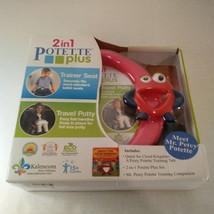 Kalencom 2 in 1 Potette Plus Mr Petey Potette Portable Potty & Trainer Seat - $19.79