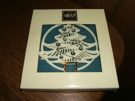 Mikasa Holiday Happiness Tree Ornament ST300/901 (New In Box) - $9.85