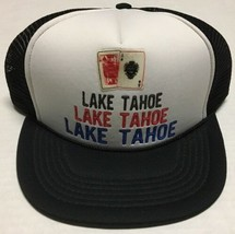 Lake Tahoe Trucker Hat Cards Gambling Nevada Tourist Attraction Destinat... - $19.79