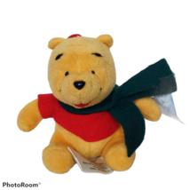 NWT Winnie the Pooh Disney Seasonal Specialties Christmas Holiday Plush ... - $19.80
