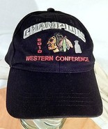 Chicago Blackhawks 2010 Western Conference Champions Hat One Size Adjust... - $17.80