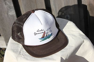 515b8f70a06 Vintage Mesh Tucker Hat Lake Geneva Retro Snap Back Adjustable One Size -   17.80 · Advanced search for Fcuk French Connection Hat