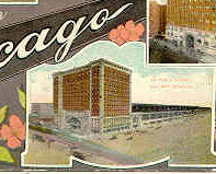 Chicago Illinois 1911 Multi View Post Card