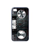 NEW iPhone 4 Hard Black Case Cover Digital Mixer DJ Turntable Gift 32775651 - $17.99