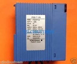 YOKOGAWA USED F3YP14-0N PLC module 60 days warranty - $304.00