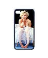 NEW iPhone 4 Hard Black Case Cover Marilyn Monroe Ballerina Sitting Gift... - $17.99