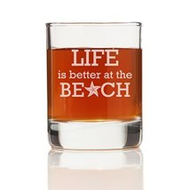Life is Better At The Beach Shot Glass (Set of 4) - $25.51 CAD