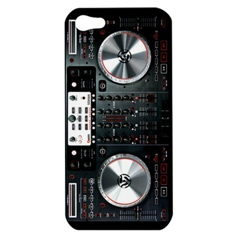NEW iPhone 5 Hard Shell Case Cover Digital Mixer DJ Turntable Gift 33005596