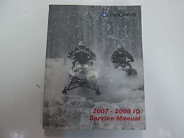 2007 08 2009 Polaris IQ Snowmobile Service Repair Manual MINOR WEAR FACT... - $69.28