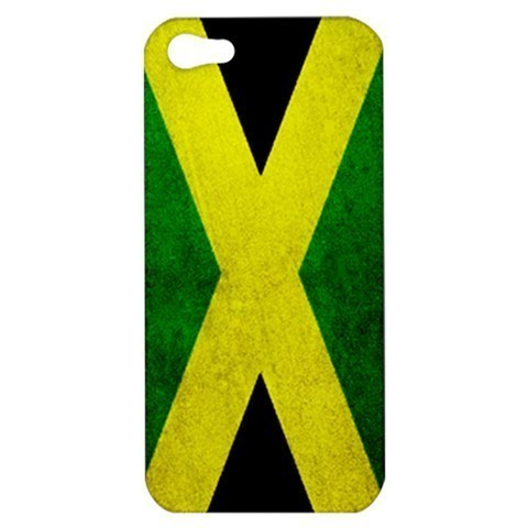 NEW iPhone 5 Hard Shell Case Cover Jamaica Flag Grunge Gift model 33005677