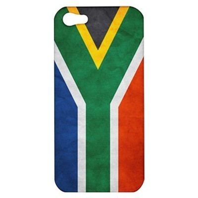 NEW iPhone 5 Hard Shell Case Cover South Africa Grunge Flag Gift model 33035848