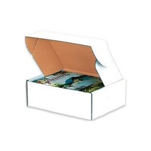 """Deluxe Literature Mailers, 24"""" x 18"""" x 6"""", White, 25/Bundle"" - $197.99"