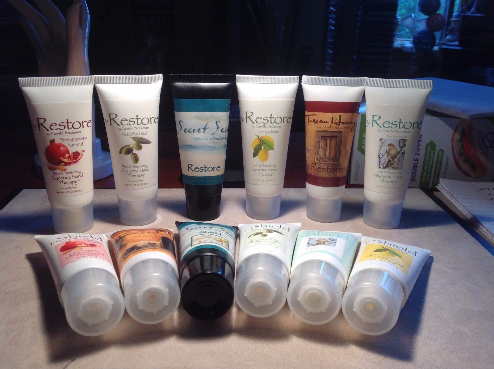 New Camilla Beckman Hand Therapy 12 Total Extra Protective Shielding