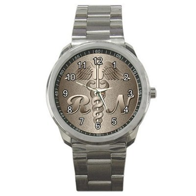 Registered Nurse RN Sport Metal Watch Gift model 32718277