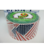 USA UNITED STATES FLAG DUCK BRAND DUCT TAPE 1.88 BY 10 YARDS SINGLE ROLL - $8.99