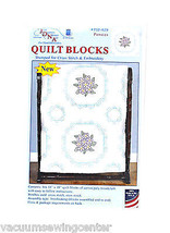 Jack Dempsey Pansies Quilt Blocks - $14.65