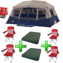 Camping Family Tent 10 Person 2 Room Hiking All... - $322.23