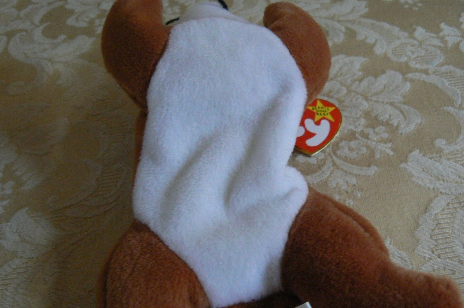 "Rare Ty Original Beanie Babies "" Sly "" The Fox - Retired Errors Mint Condition image 5"