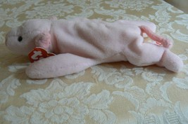 """Rare Ty Original Beanie Babies """" Squealer """" The Pig - Retired Errors Mint 1993 image 2"""