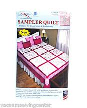 Jack Dempsey Hearts Sampler Quilt - $35.65