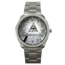 The All Seeing Eye Sport Metal Watch Gift model 33659613 - $15.99