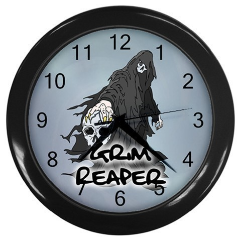 The Reaper Halloween Night Wall Clock (Black) Gift model 14571682