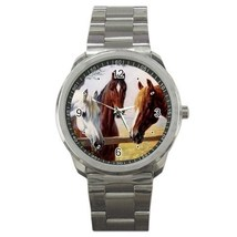 Three Horses Sport Metal Watch Gift model 32049571 - $15.99