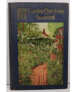 1001 Garden Questions Answered by Alfred Carl Hottes 1927 - $7.99